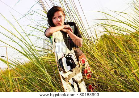 Kite Surfing Girl