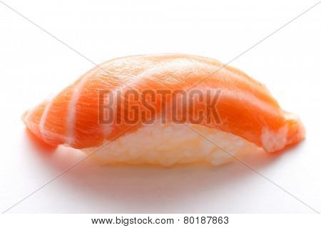 nigiri with salmon