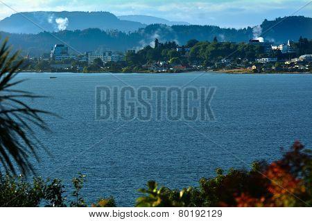 Lake Rotorua  - New Zealand