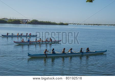 Outrigger Canoe Teams