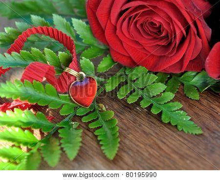 Heart Pendant For Valentine