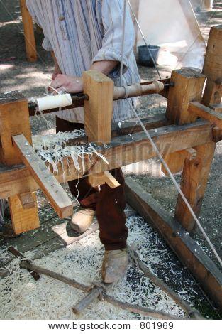 Turning wood 2