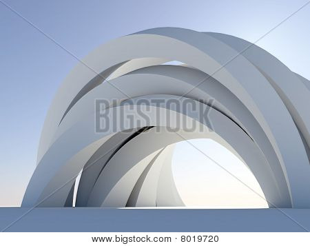 Complicated arch