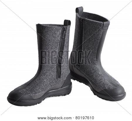 Women Felt Boots
