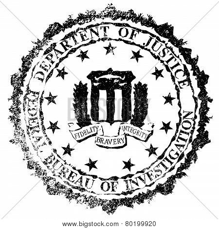 FBI Rubber Stamp