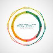 picture of symmetrical  - Symmetric abstract geometric shape - JPG