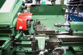 stock photo of machinery  - Close up of heavy machinery at the university - JPG
