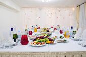 image of banquet  - Banquet facilities table setting - JPG