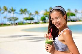 picture of smoothies  - Green detox smoothie  - JPG