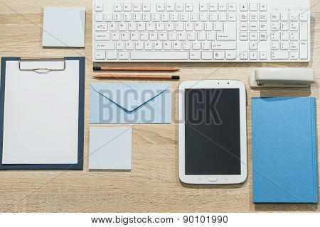 Precisely Arranged Desk