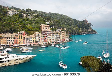 Colorful Harbor Of Portofino
