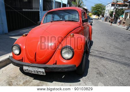 Vw Beetle In Brazil