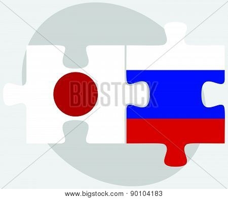 Japan And Russian Federation In Puzzle