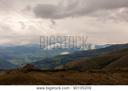 Andes Mountains Is Split Into Several Ranges, Which Are Separated By Intermediate Depression