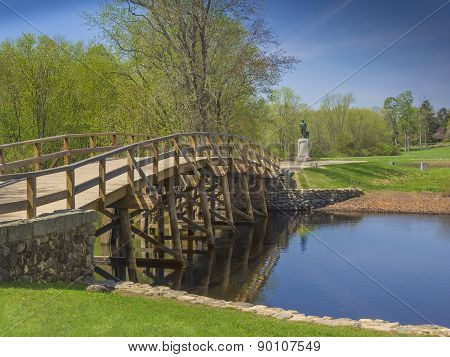 Old North Bridge, Concord, Mass. USA
