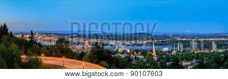 Portland Oregon Panorama