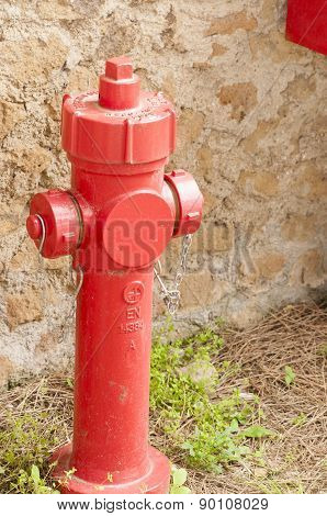 Red Hydrant Construction