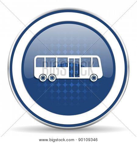 bus icon public transport sign