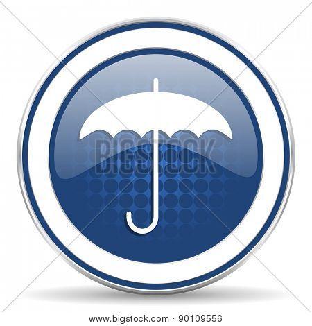 umbrella icon protection sign