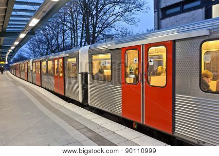Train In Motion