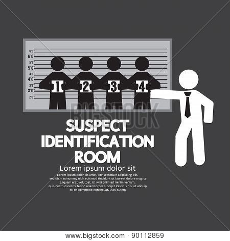 Suspect Identification Room.
