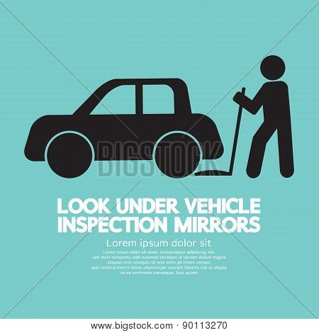 Lookunder Vehicle Inspection Mirrors.