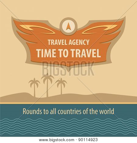 Travel Agency. logo