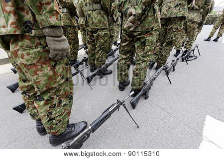 Japanese army