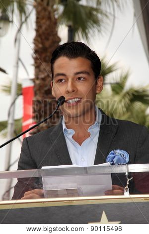 LOS ANGELES - MAY 7:  Manolo Gonzalez-Ripoll Vergara at the Sofia Vergara Hollywood Walk of Fame Ceremony at the Hollywood Blvd on May 7, 2015 in Los Angeles, CA