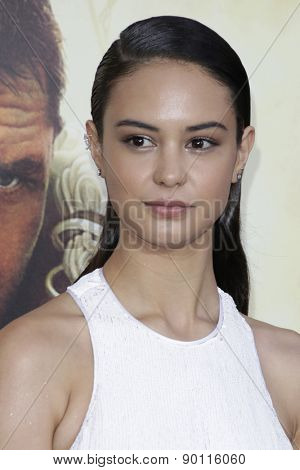 LOS ANGELES - MAY 7:  Courtney Eaton at the Mad Max: Fury Road Los Angeles Premiere at the TCL Chinese Theater IMAX on May 7, 2015 in Los Angeles, CA