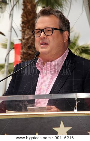 LOS ANGELES - MAY 7:  Eric Stonestreet at the Sofia Vergara Hollywood Walk of Fame Ceremony at the Hollywood Blvd on May 7, 2015 in Los Angeles, CA