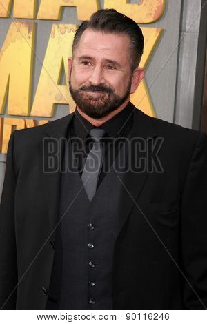 LOS ANGELES - MAY 7:  Anthony LaPaglia at the Mad Max: Fury Road Los Angeles Premiere at the TCL Chinese Theater IMAX on May 7, 2015 in Los Angeles, CA