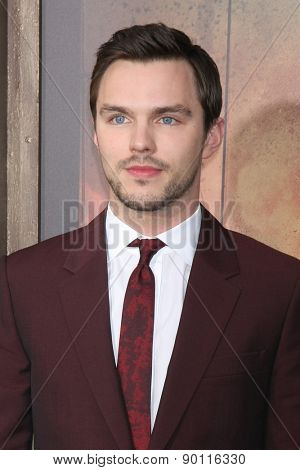 LOS ANGELES - MAY 7:  Nicholas Hoult at the Mad Max: Fury Road Los Angeles Premiere at the TCL Chinese Theater IMAX on May 7, 2015 in Los Angeles, CA