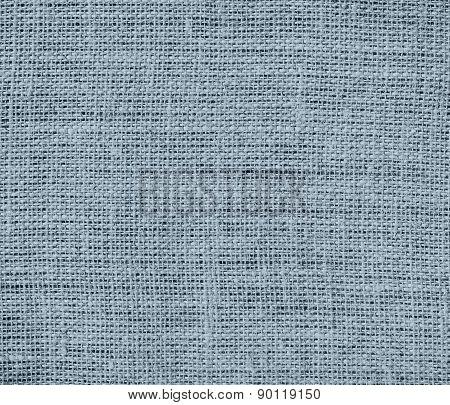 Cadet grey color burlap texture background