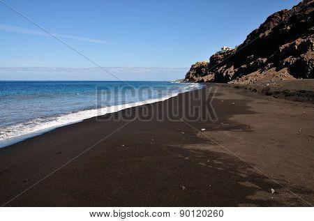 Beach Under Cliff
