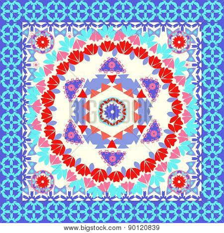 Geometric Pattern Background Vintage Style