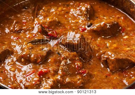 Beef Stew In A Pan