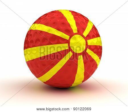 Macedonian Golf Ball