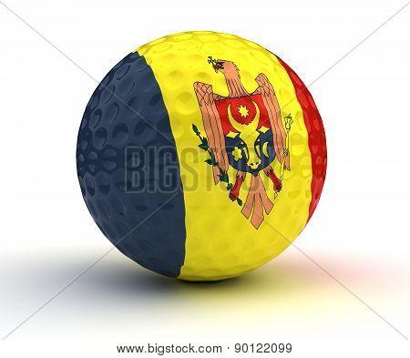 Moldovan Golf Ball