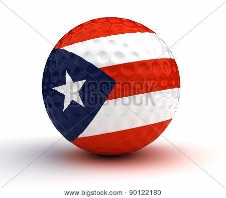 Puerto Rican Golf Ball