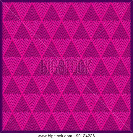 strip triangle pattern design