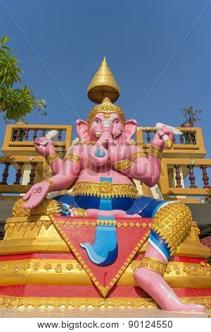 Statue of Hindu God Ganesha