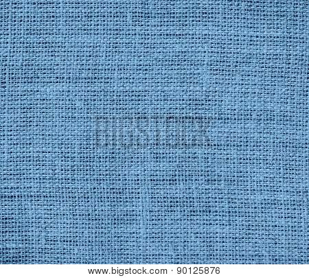 Cerulean frost color burlap texture background