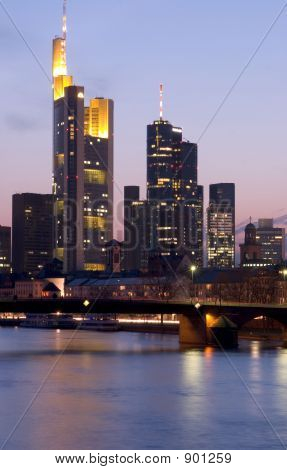 Frankfurt Skyscrapers1