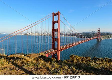 Golden gate bridge , San Francisco