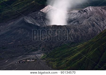 Close-up Of Mt.bromo