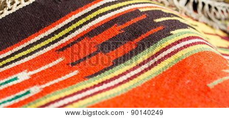 Traditional Ukrainian Woven Fabric