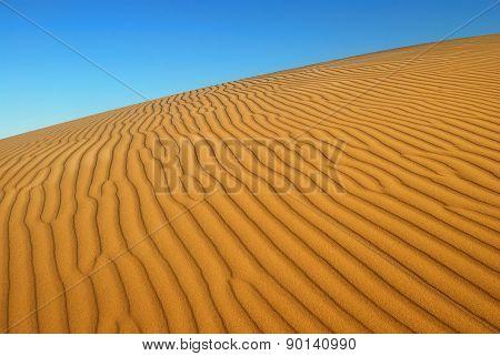 Orange Soft Desert Sand