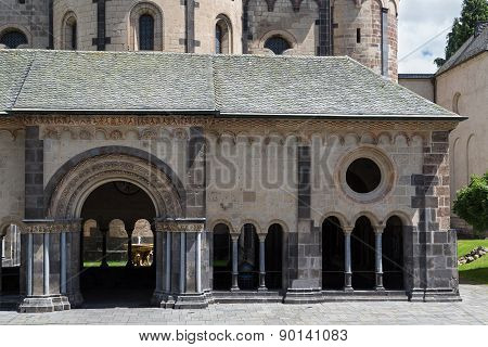 Medieval Benedictine Abbey In Maria Laach, Germany