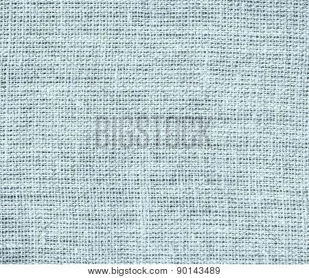 Columbia blue color burlap texture background
